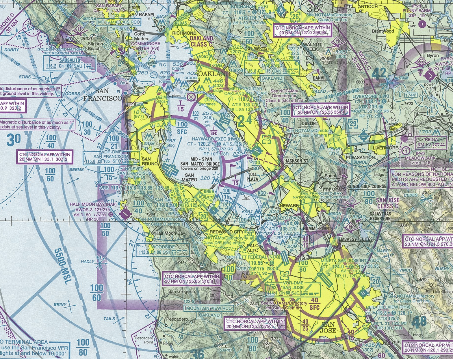Privatization Of US Air Traffic Control Needs To Explore - Us air traffic map
