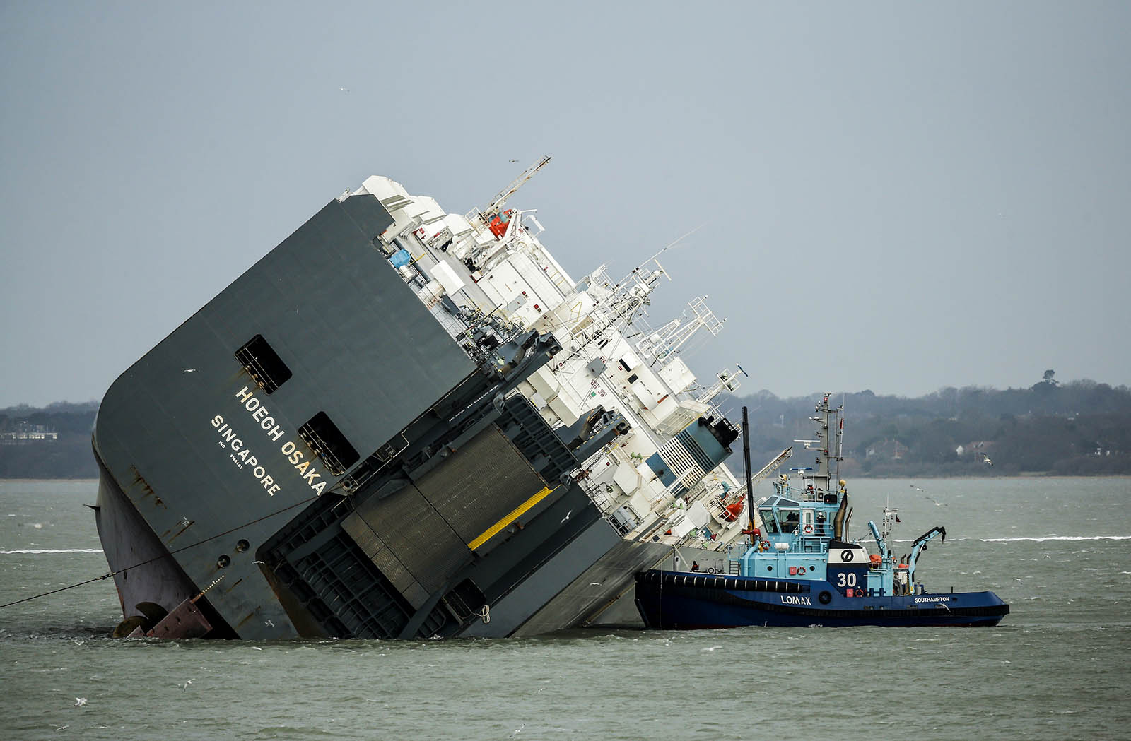 Shipping Losses Continue to Drop Despite 'Perfect Storm